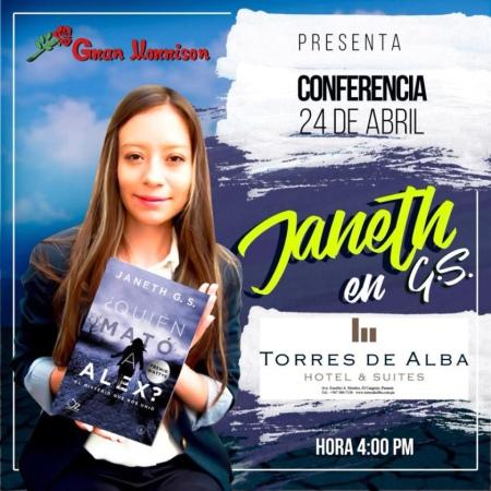 Janeth G. S.  en Panamá