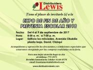 Expo Feria de Fin de Año y preventa Escolar 2018 - Chiriquí