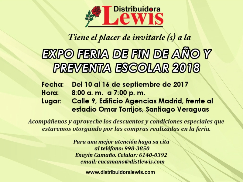 Expo Feria de Fin de Año y Preventa Escolar 2018 provincias centrales 800px