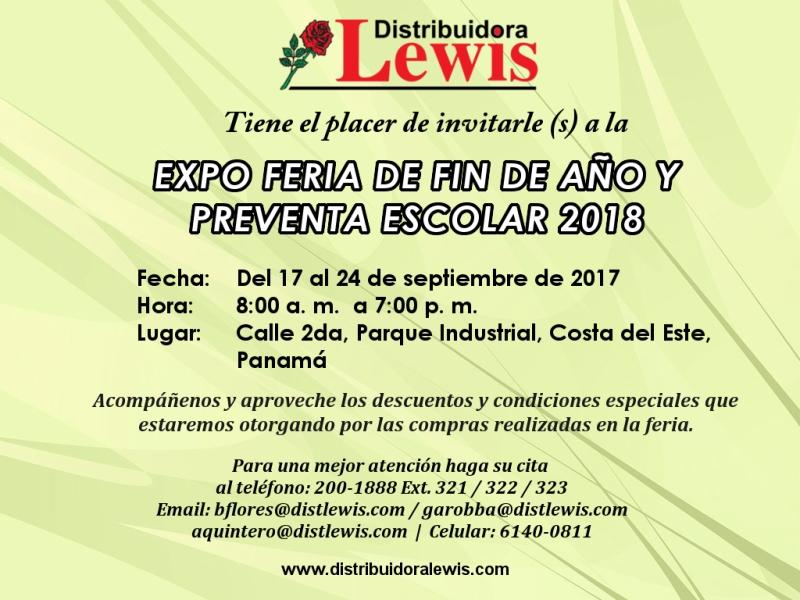 Expo Feria de Fin de Año y Preventa Escolar 2018 PANAMA 800PX
