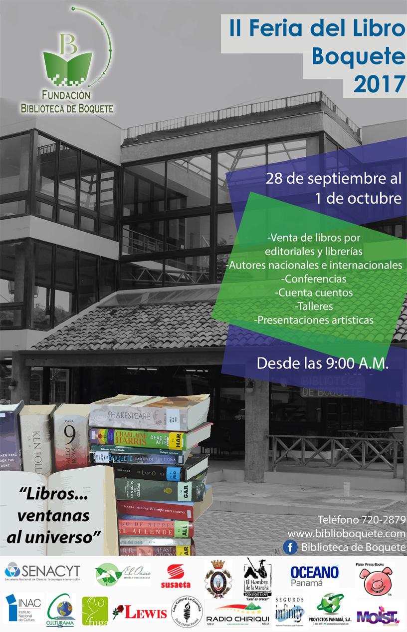 Feria Libro Boquete 2017