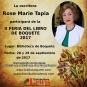 Rose Marie Tapia en la II Feria del Libro de Boquete 2017