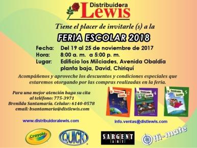 Feria Escolar 2018 en Chiriquí