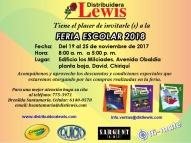 Feria Escolar 2018 Bocas del Toro