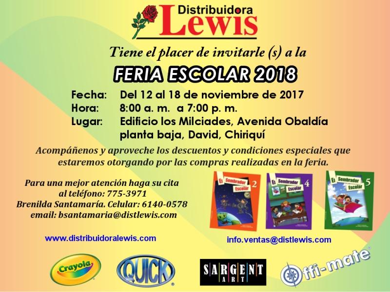 Feria Escolar Chiriquí 2018 con fondo multicolor_800px
