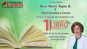 Rose Marie Tapia participará de la 1ra Feria del Libro de Veraguas 2017