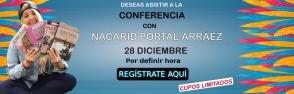 Regístrate para asistir a la Conferencia con Nacarid Portal Arráez en Panamá