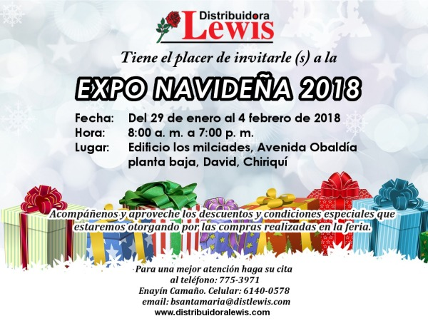 Expa navideña enero 2018 Chiriqui_600px
